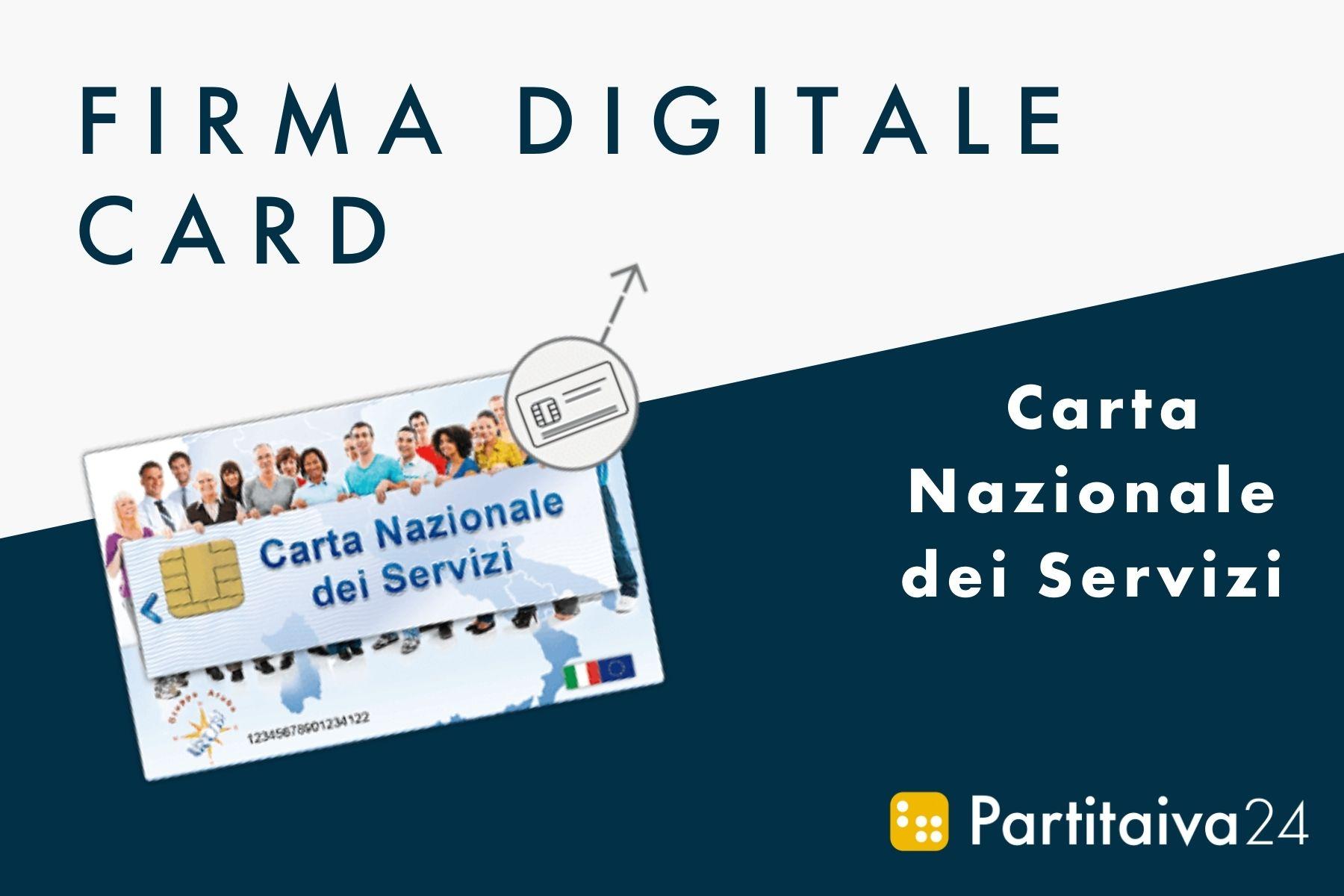 Firma digitale - smart card CNS