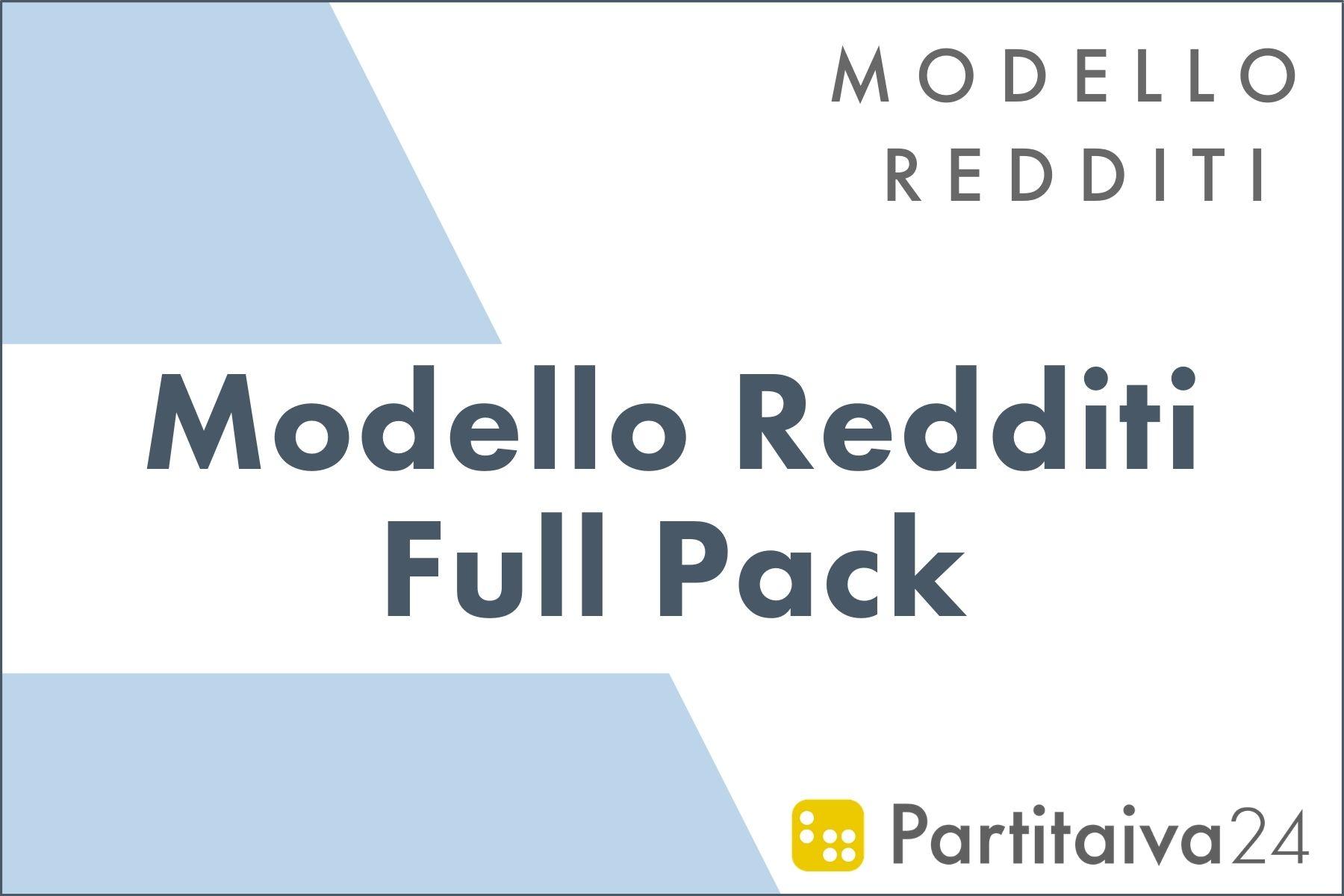 modello redditi full pack