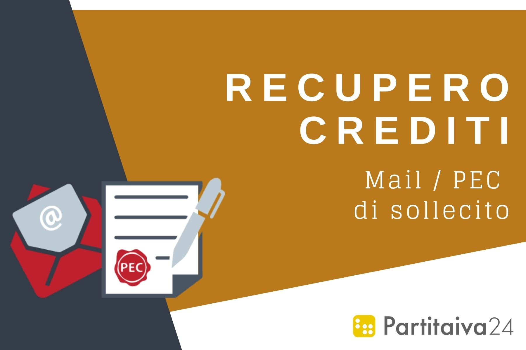 Recupero crediti online - pec e mail di sollecito